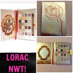 NWT! LORAC LIMITED ED. BEAUTY & THE BEAST PALLET